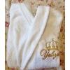 Именной турецкий махровый халат в подарок