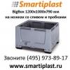 Пластиковый контейнер 1200х1000 мм Биг БОКС 1, 2х1, 0 м big box